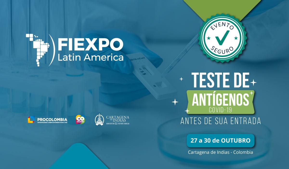 FIEXPO Medidas Covid Test Pt